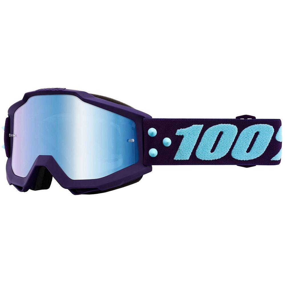 100% Accuri MTB Goggles w-Anti-Fog Lens  - Maneuver-Blue, Maneuver-Blue