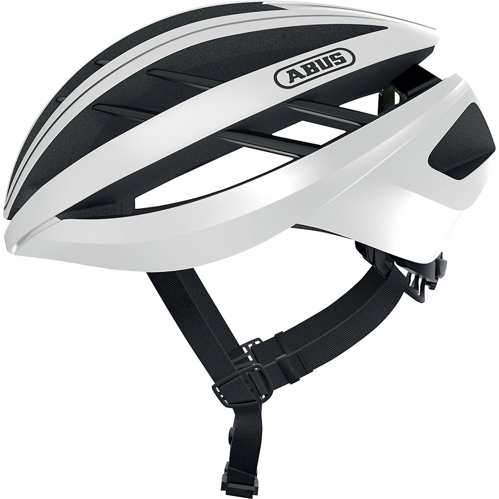 Abus Aventor Road Cycling Helmet 2021 - White, White