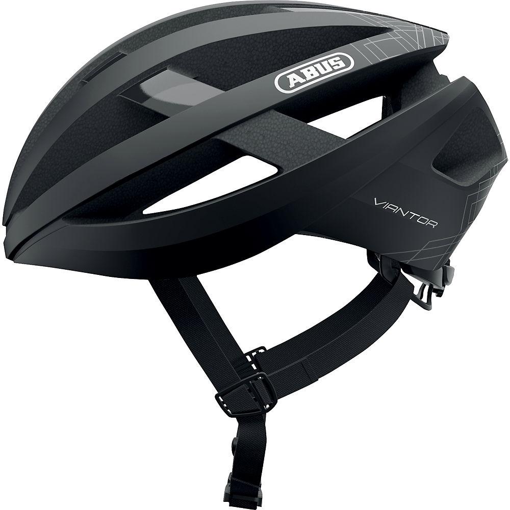 Abus Viantor Road Cycling Helmet 2021 - Black, Black