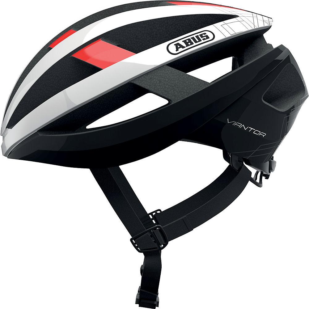 Abus Viantor Road Cycling Helmet 2021 - Red, Red