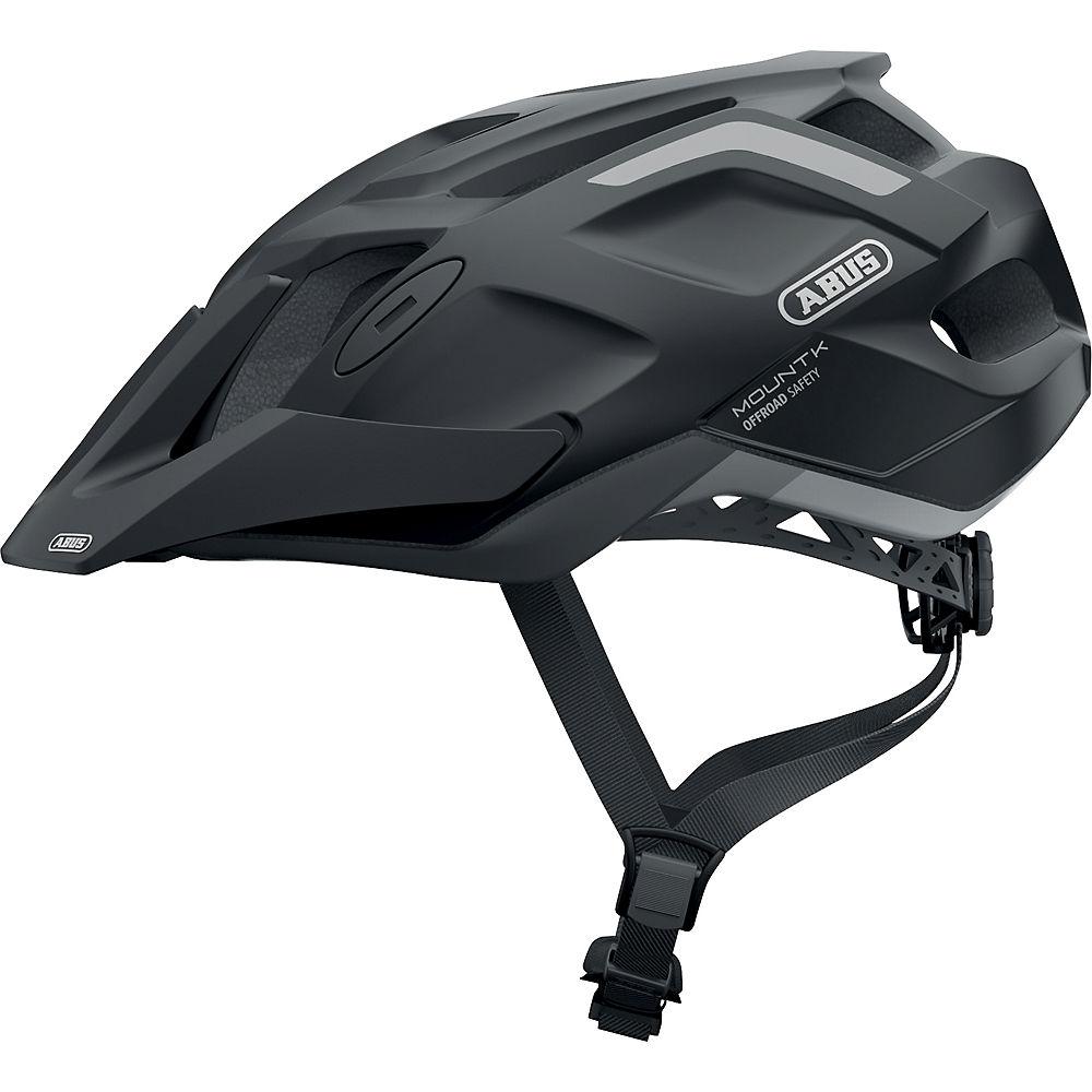 Abus Mount K Cycling Helmet 2021 - Velvet Black, Velvet Black