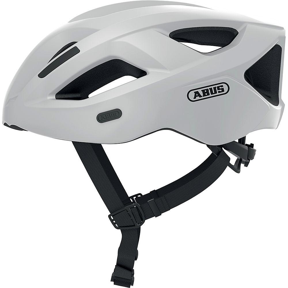 Abus Aduro 2.1 Cycling Helmet 2021 - White, White