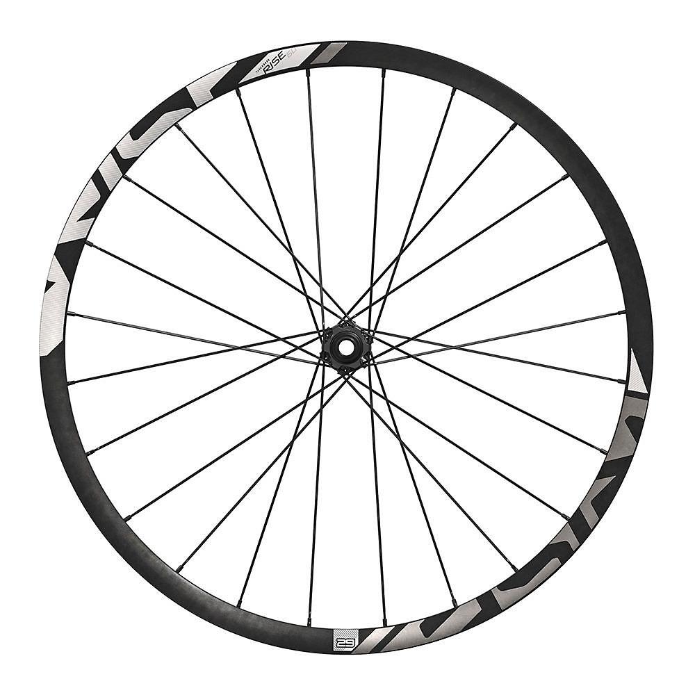 Sram Rise 60 Carbon Front Wheel - Black-white - 29  Black-white