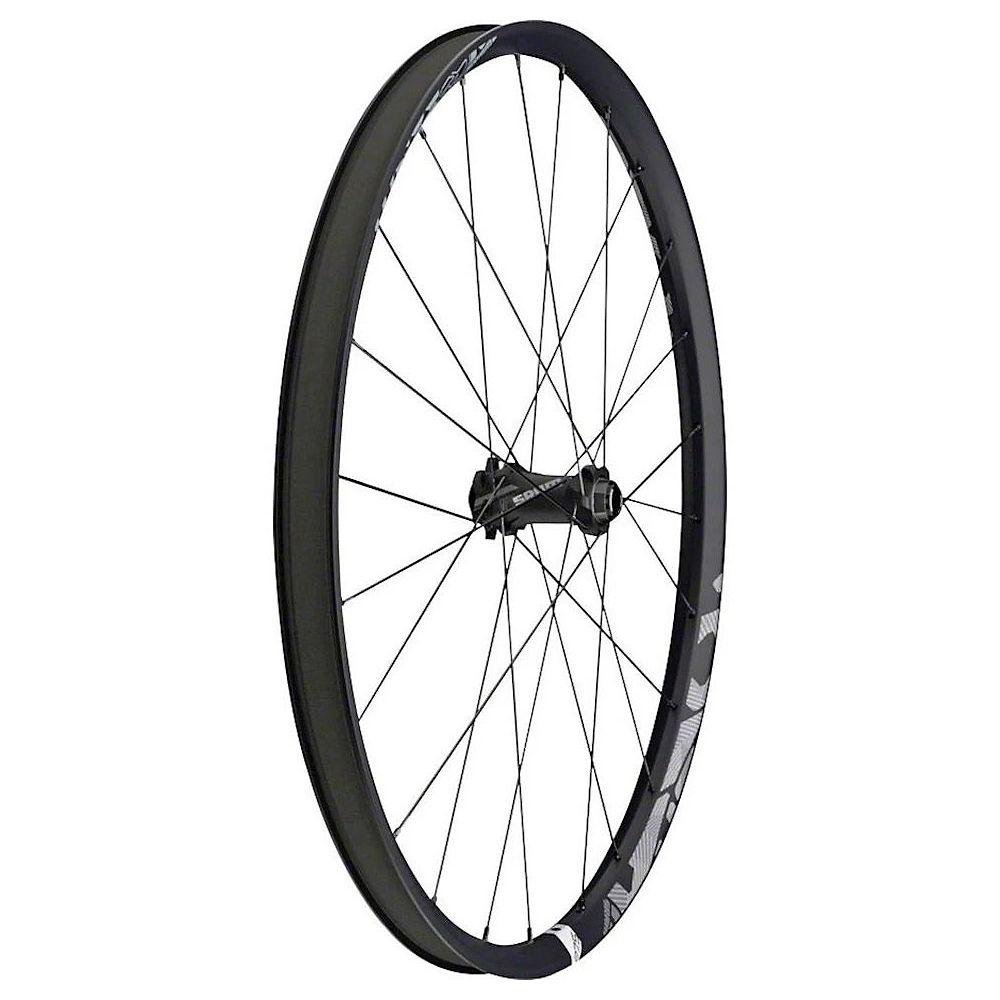 Sram Roam 60 Carbon Convertible Front Wheel - Black-grey - 29  Black-grey