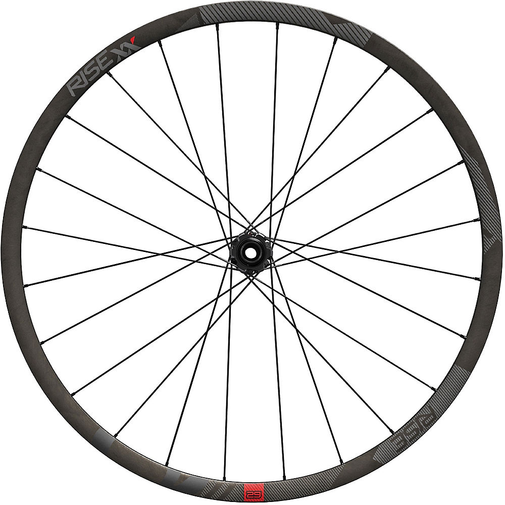 Sram Rise Xx Carbon Wheelset - Black - 29  Black