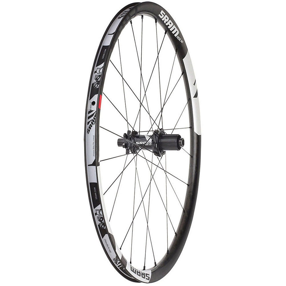 Sram Rise 60 Convertible Rear Wheel - Black-white - 26  Black-white