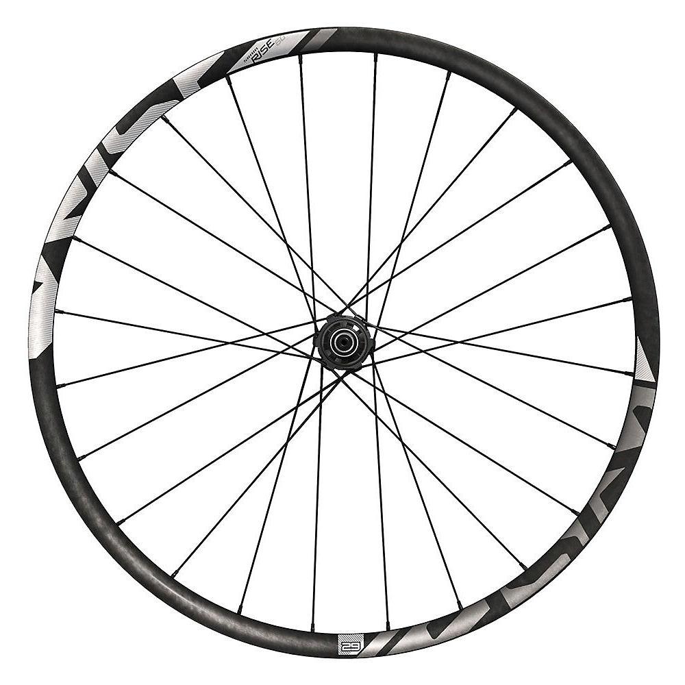 Sram Rise 60 Carbon Rear Wheel - Black-white - Qr / 12x142mm  Black-white