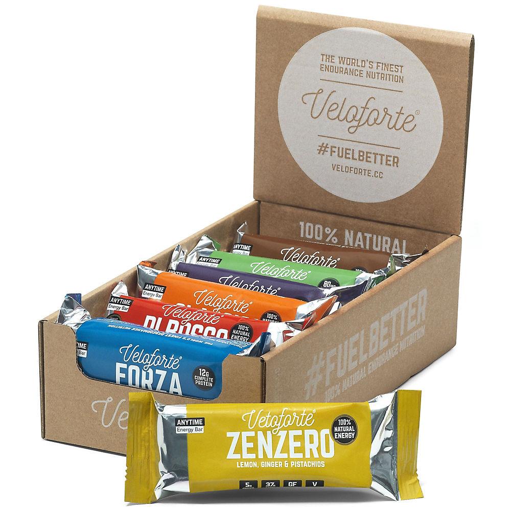 Veloforte Mixed Natural Energy Bar Box (12 X 62g)