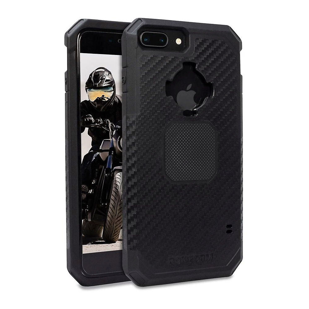 Rokform Rugged Phone Case - iPhone 6-7-8 Plus - Black - iPhone 6/7/8 Plus, Black