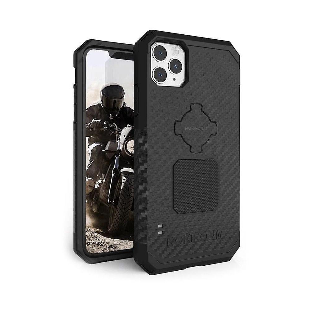 Rokform Rugged Phone Case - iPhone 11 Pro Max - Black, Black