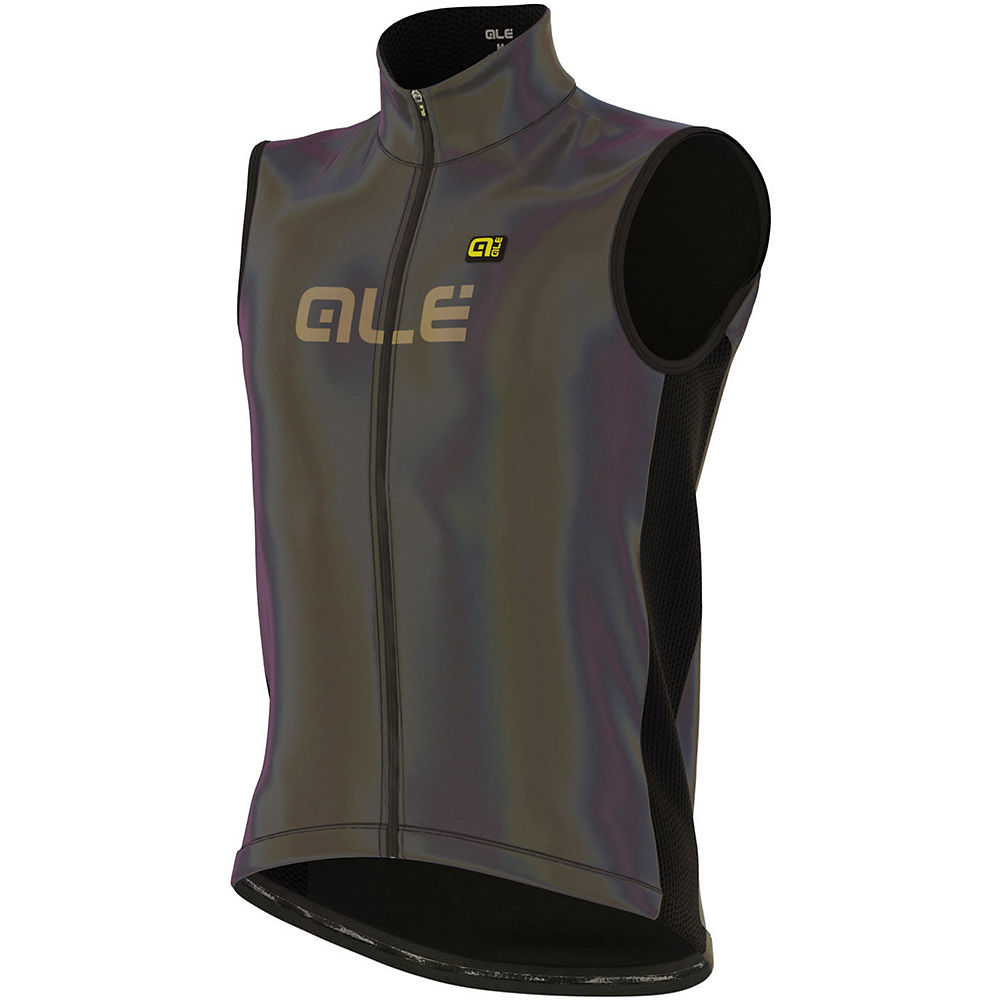 Alé Iridescent Reflective Cycling Gilet, Iridescent