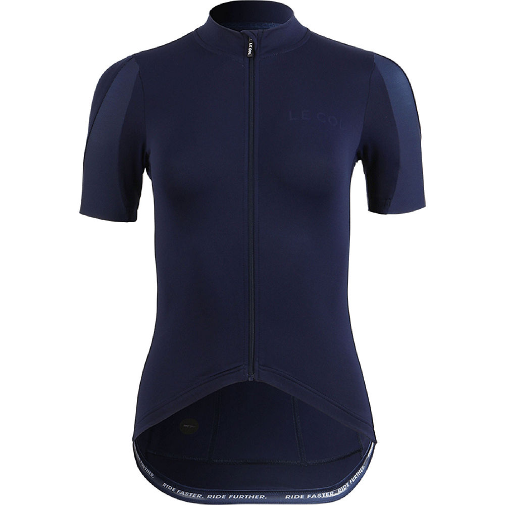 Le Col Womens Hors Categorie Cycling Jersey Ss21 - Navy - Xs  Navy