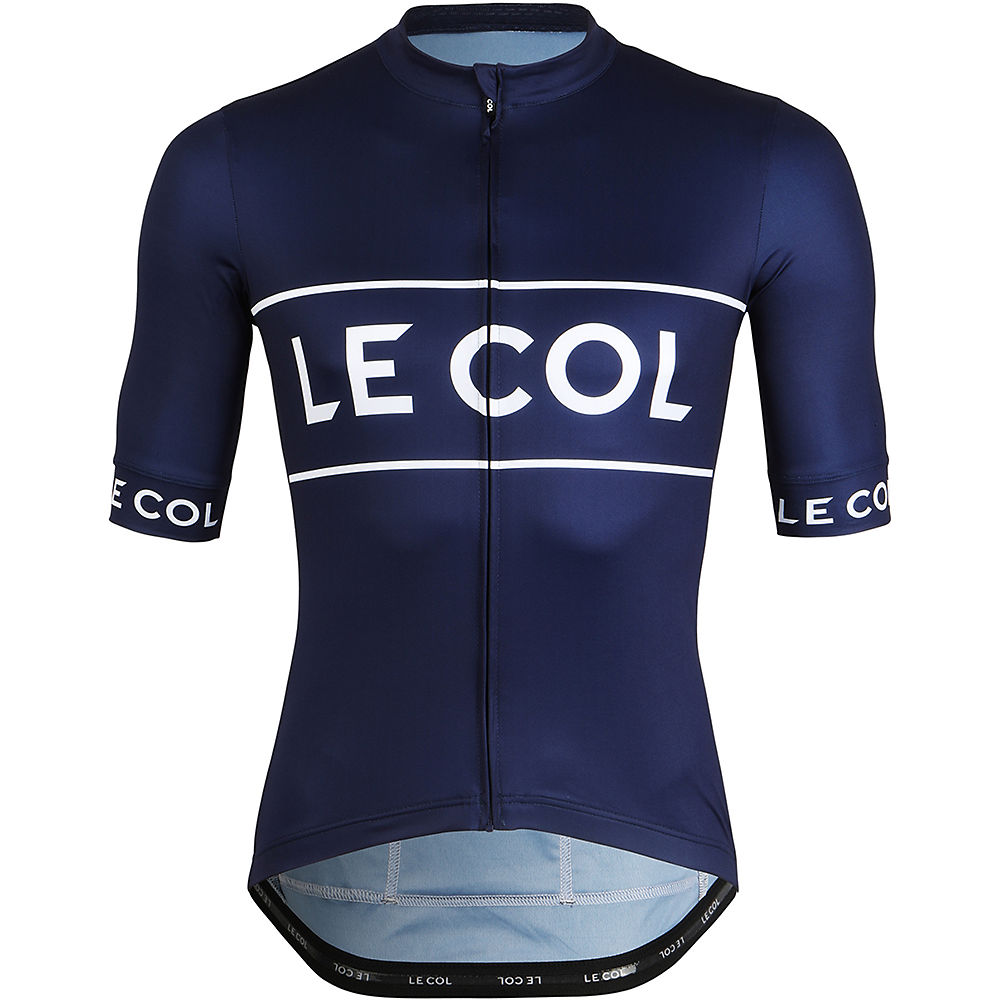 LE COL Sport Logo Cycling Jersey SS21 - Navy - M, Navy