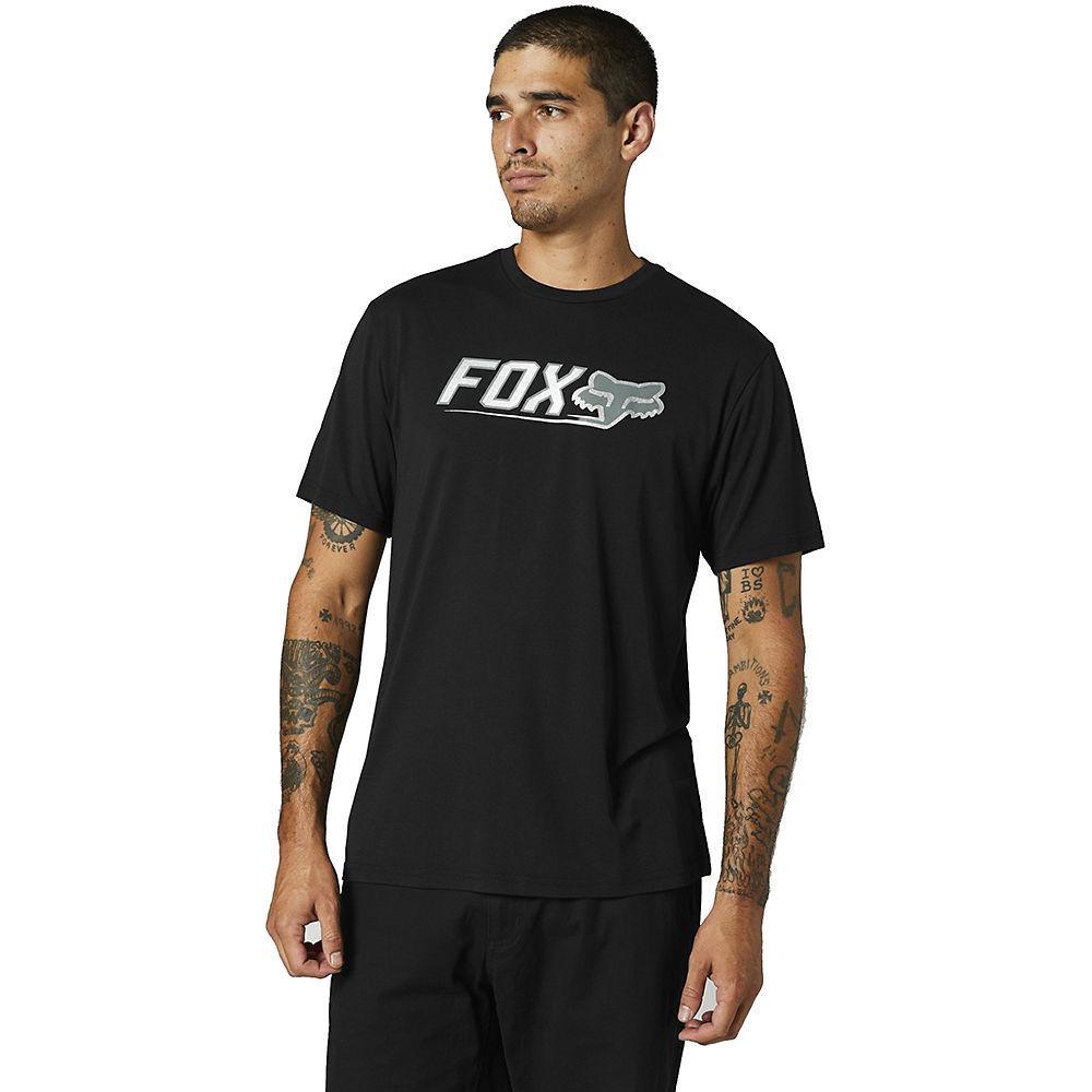 Fox Racing Cntro Short Sleeve Tech Tee 2021 - Black - M  Black