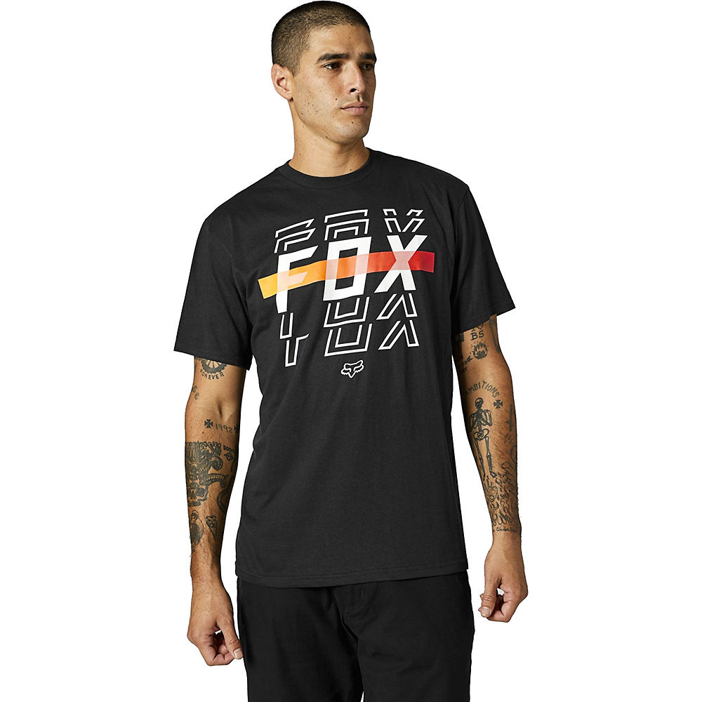 Fox Racing Cranker Short Sleeve T-shirt 2021 - Black  Black