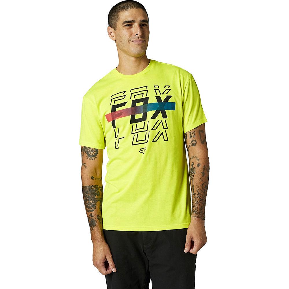 Fox Racing Cranker Short Sleeve T-shirt 2021 - Fluo Yellow  Fluo Yellow
