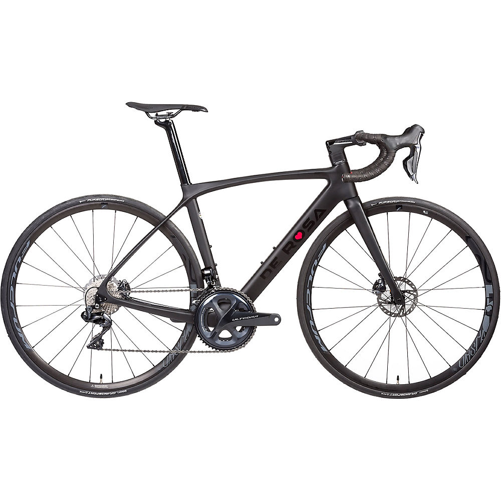 De Rosa Idol Ultegra Di2 Road Bike 2021 - Black On Black - 48cm (19)  Black On Black