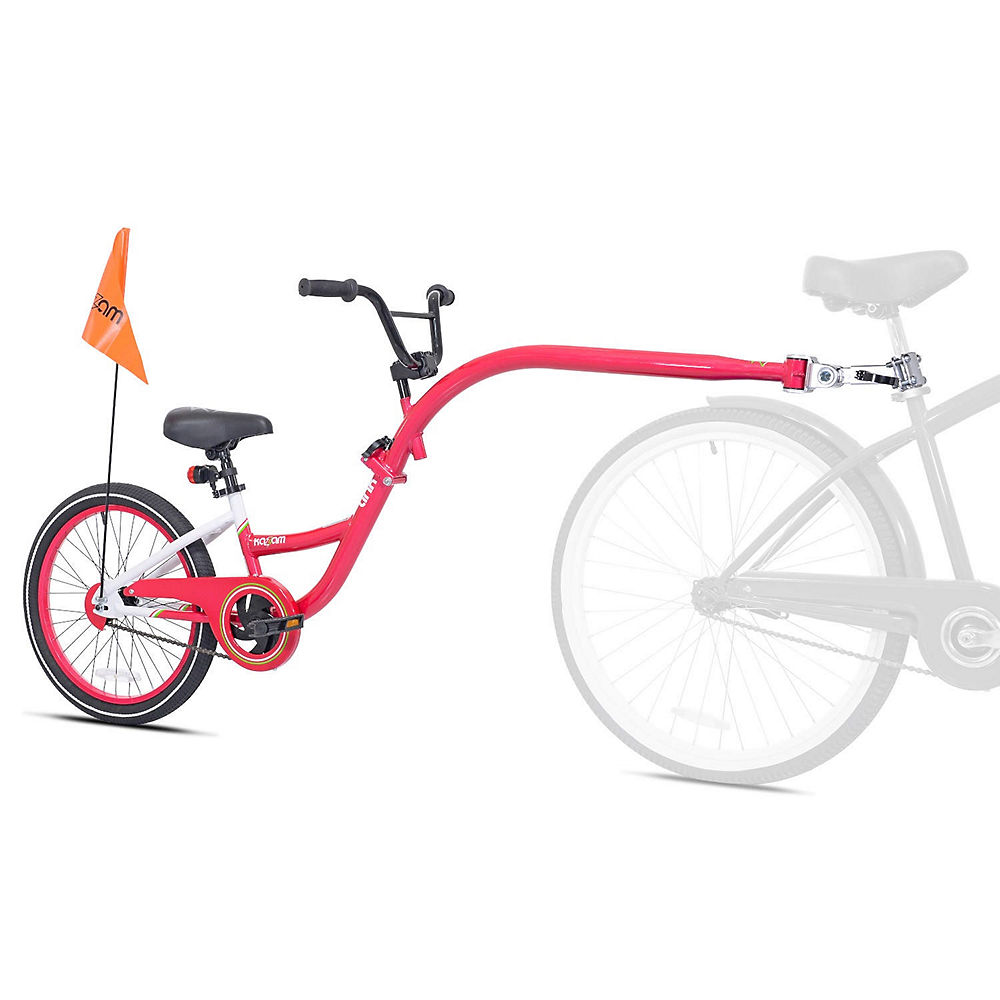 WeeRide Tagalong Link Trailer Bike - Rosa, Rosa