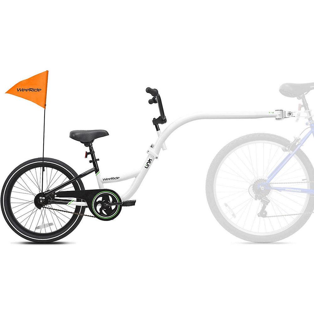 WeeRide Tagalong Link Trailer Bike - Blanco, Blanco