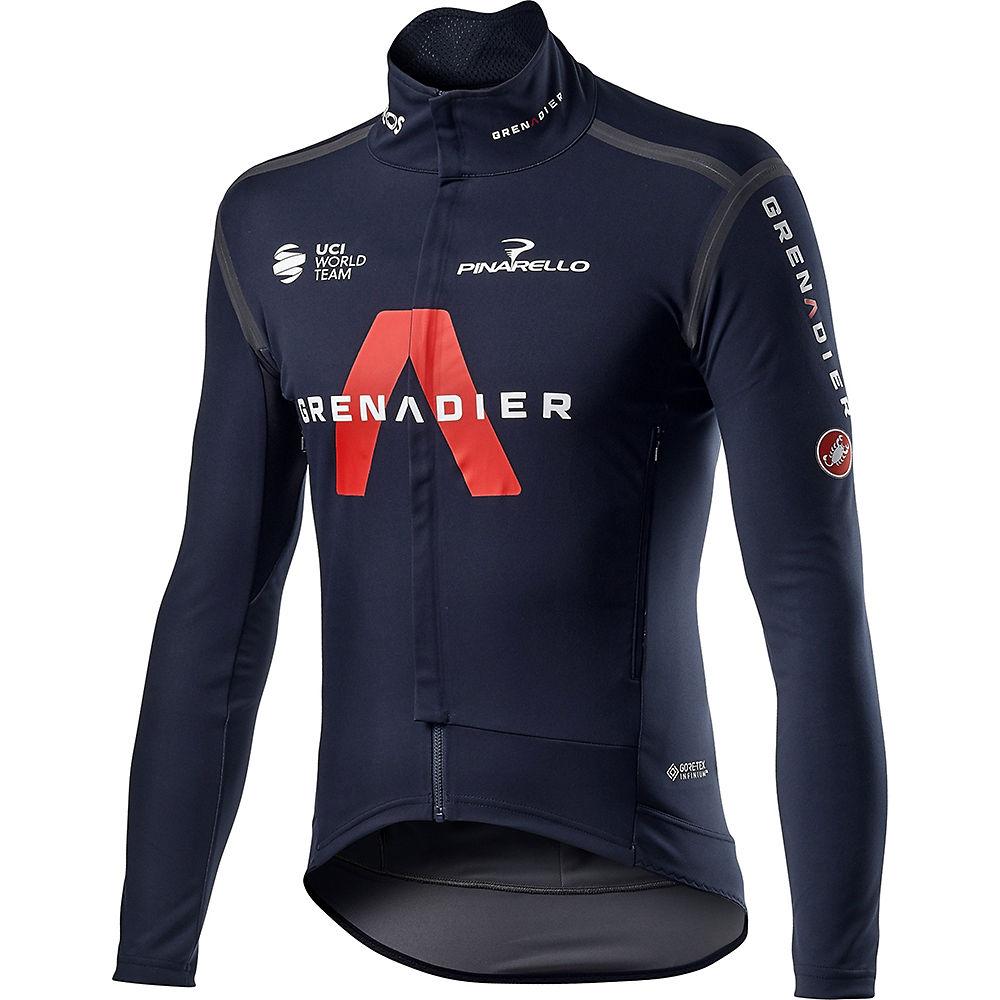 Castelli Team Ineos Grenadier Perfetto Ros Jersey 2021 - Savile Blue, Savile Blue