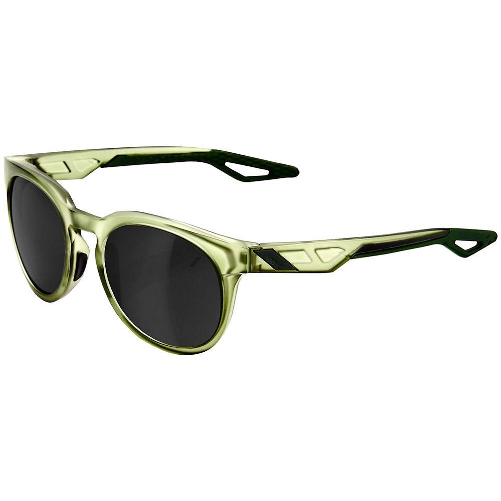 100% Campo Matte Olive Slate Sunglasses - Mirror Lens, Mirror Lens