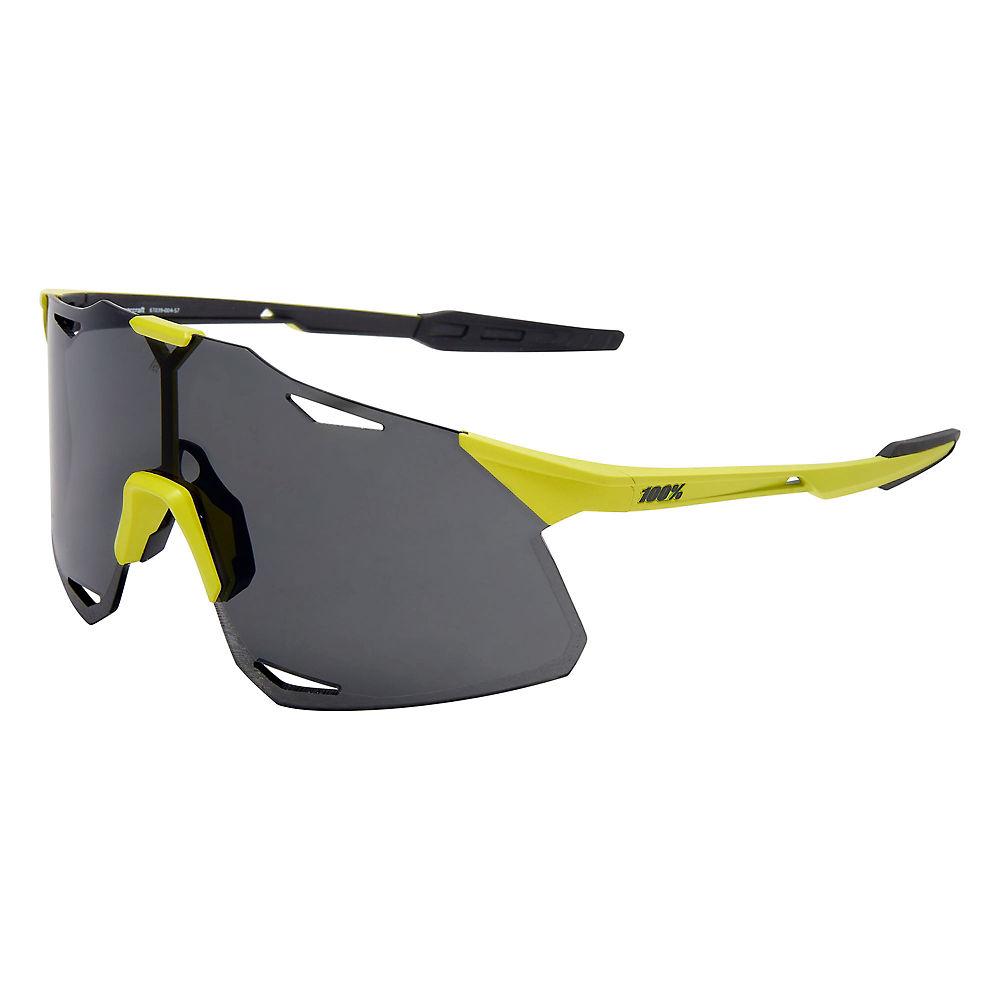 100% Hypercraft Matte Banana Sunglasses - Smoke Lens, Smoke Lens