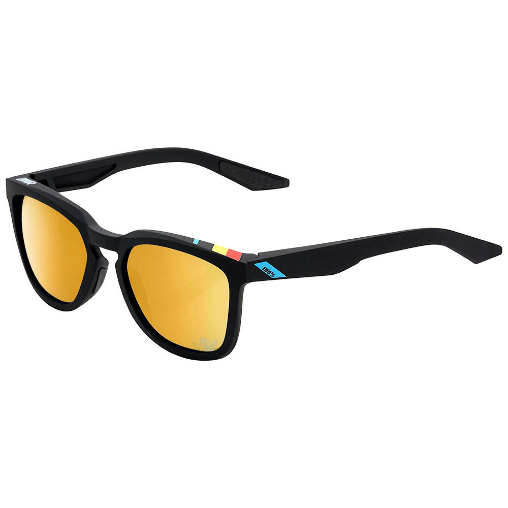 100% Hudson BWR Limited Edition Sunglasses - Gold Mirror Lens, Gold Mirror Lens