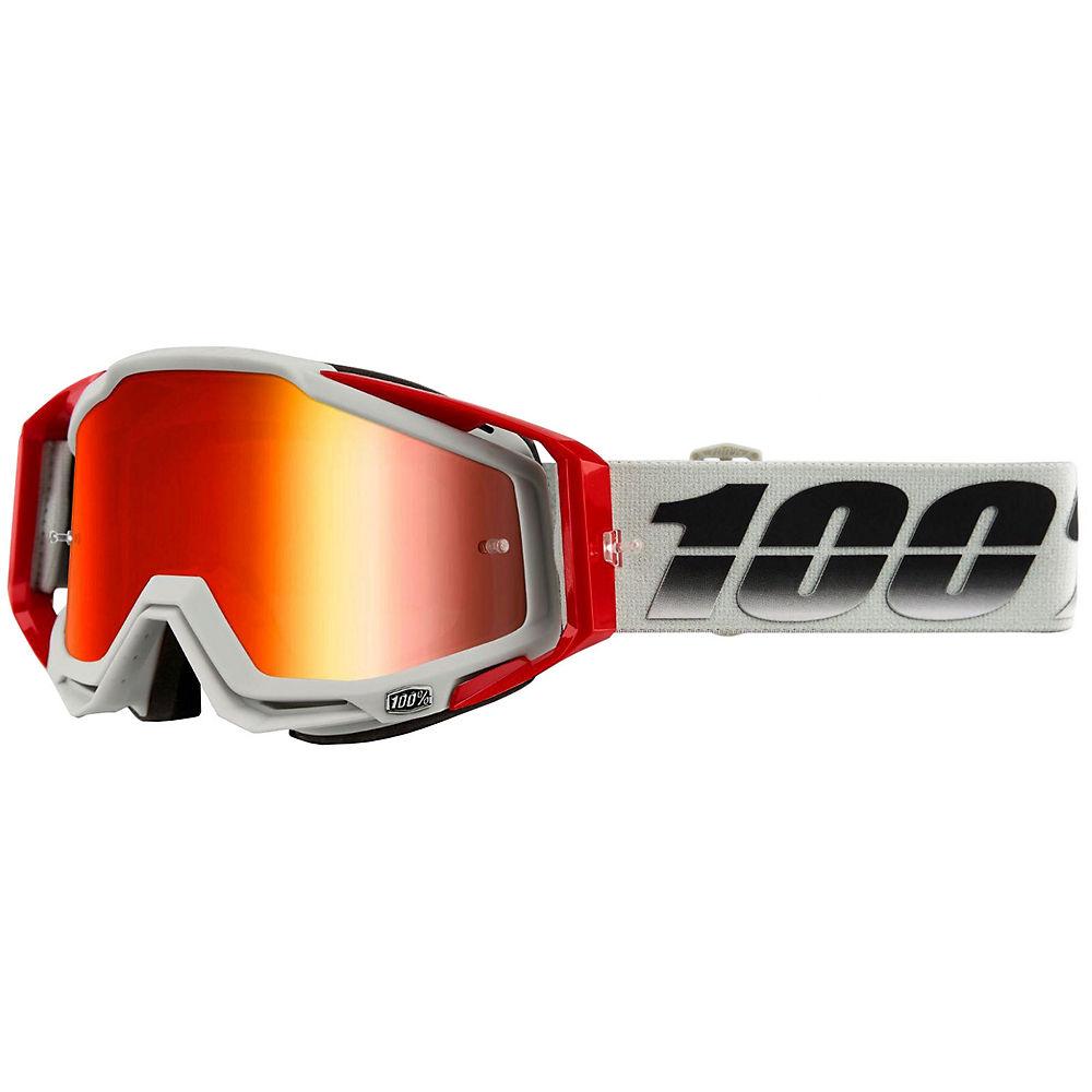 100% Racecraft Goggle Suez Mirror Lens - pale grey, pale grey