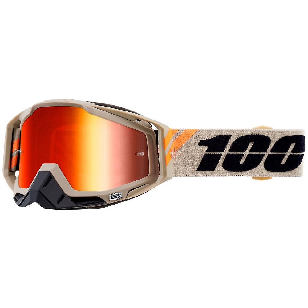 100% Racecraft Red Mirror Lens - Putty, Putty