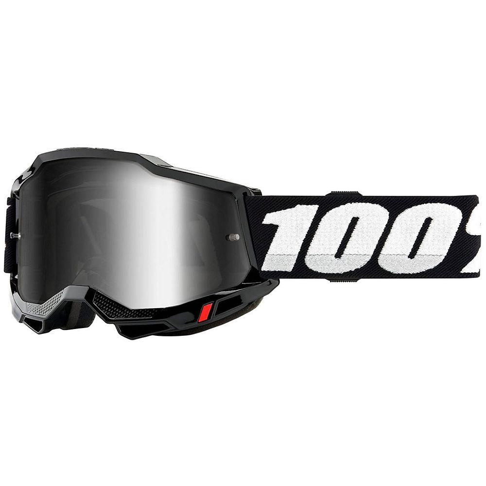 100% Accuri 2 MTB Goggles - Black White, Black White