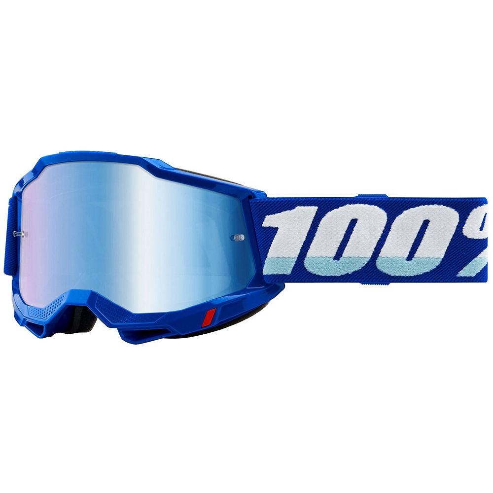 100% Accuri 2 MTB Goggles - Blue, Blue