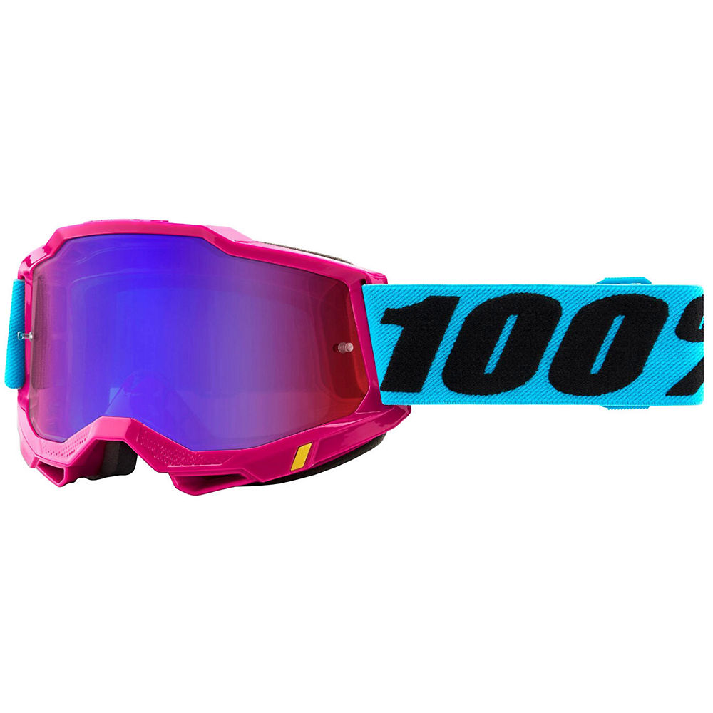 100% Accuri 2 MTB Goggles - Pink Blue, Pink Blue