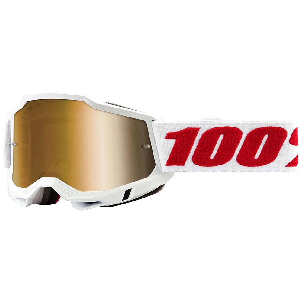 100% Accuri 2 MTB Goggles - Red White, Red White