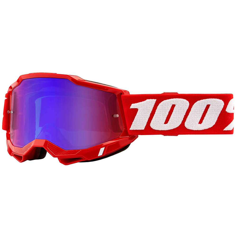 100% Accuri 2 MTB Goggles - Red, Red