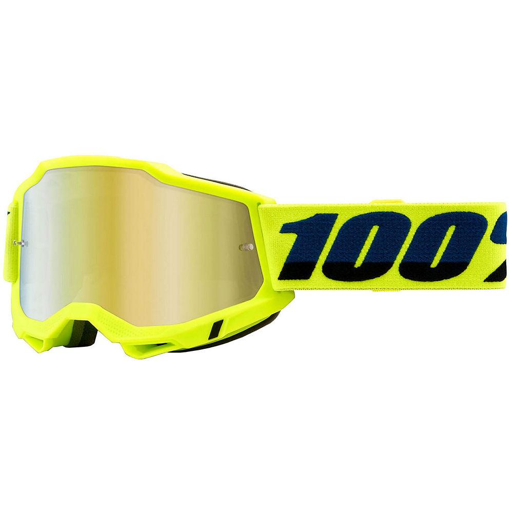 100% Accuri 2 MTB Goggles - Yellow, Yellow