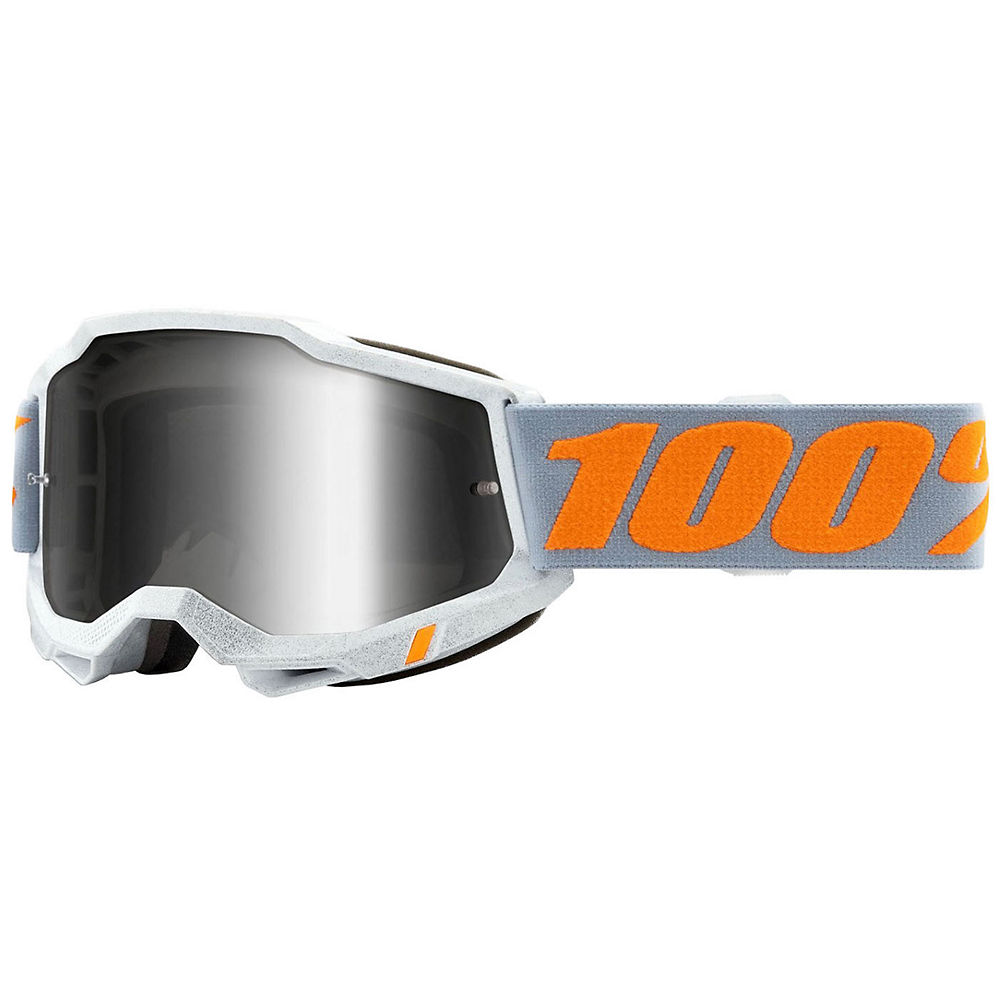 100% Accuri 2 MTB Goggles - white orange, white orange