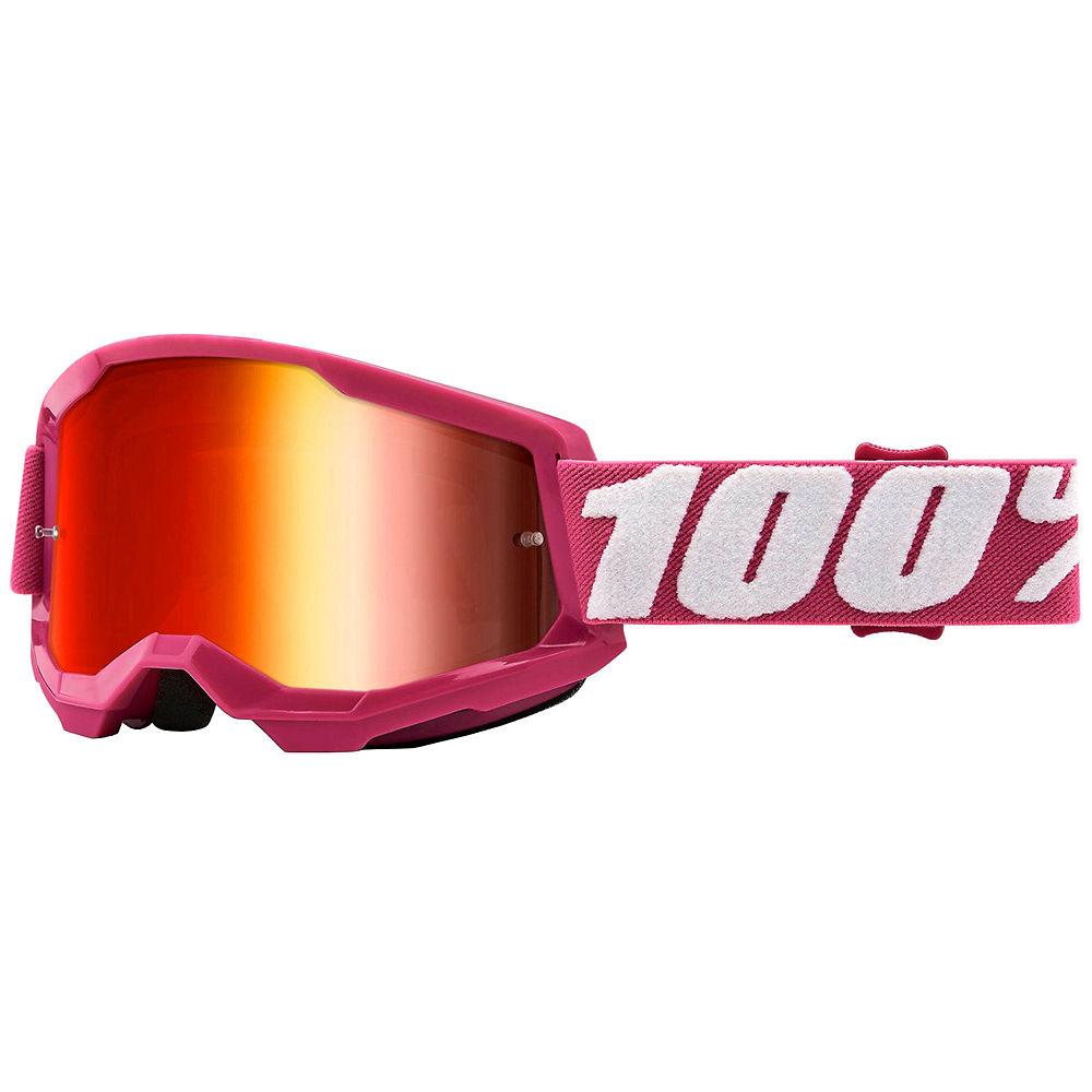 100% Strata 2 MTB Goggles - Pink, Pink