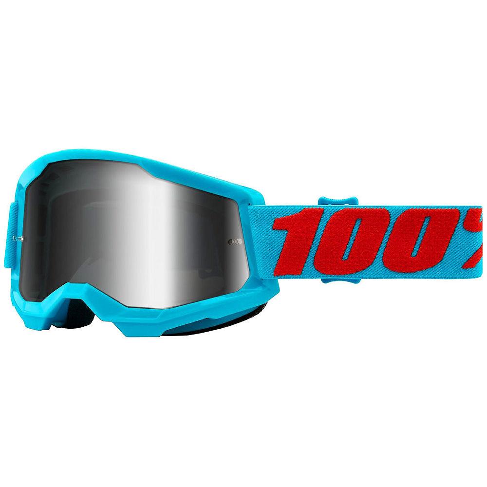 100% Strata 2 MTB Goggles - Turquoise, Turquoise