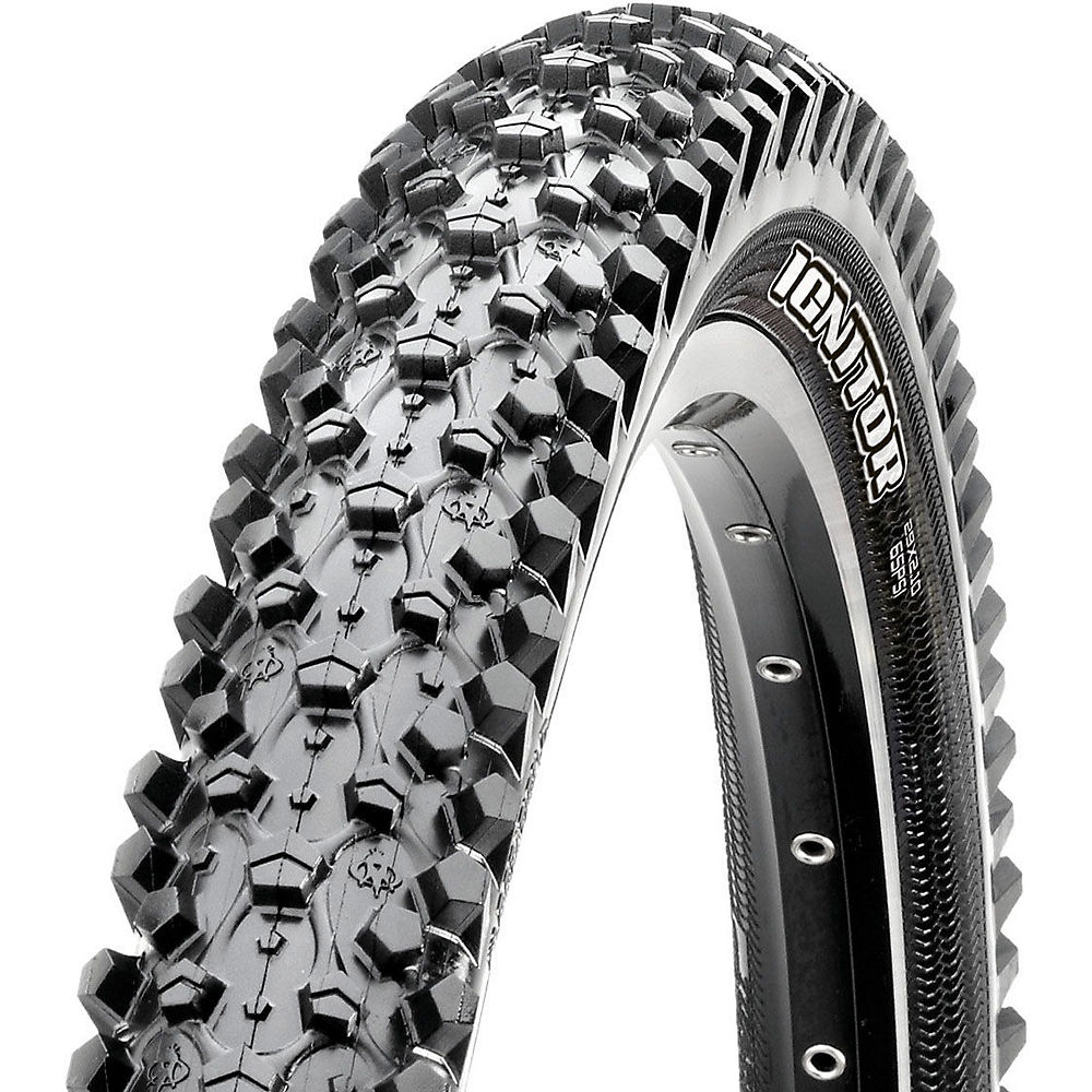 Maxxis Ignitor MTB Tyre - Black - Wire Bead, Black
