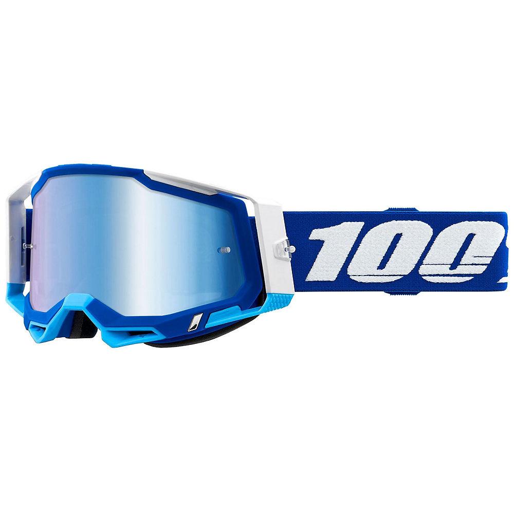 100% Racecraft 2 MTB Goggles - Blue, Blue