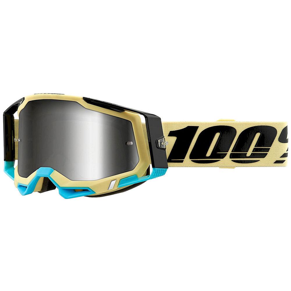 100% Racecraft 2 MTB Goggles - Silver Blue, Silver Blue
