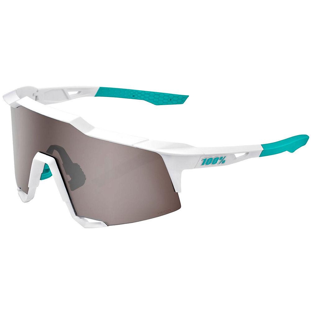 100% Speedcraft Bore Hand Grohe Sunglasses - White, White