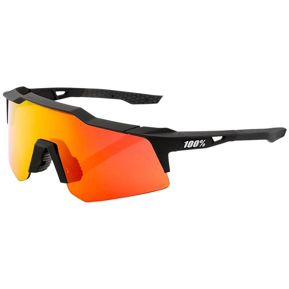 100% Speedcraft XS Soft Tact Sunglasses - Black, Black