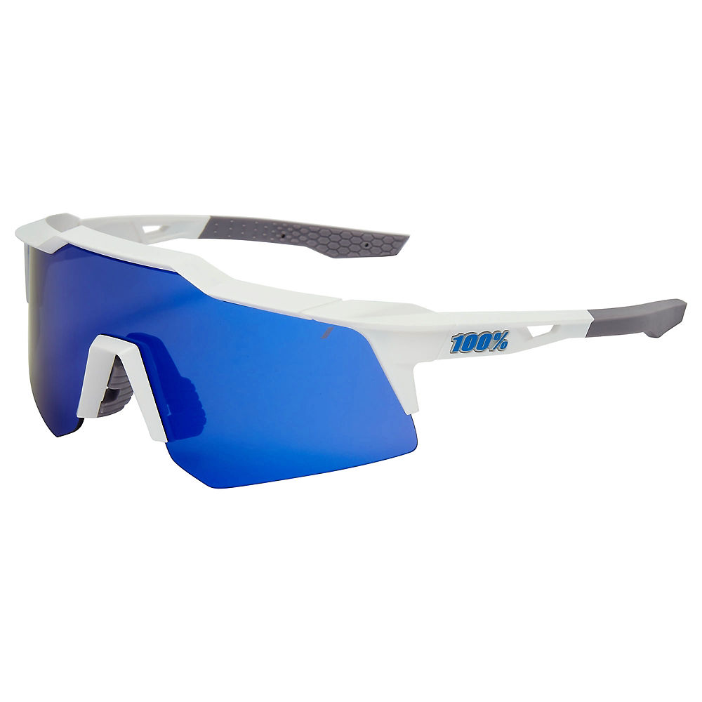 100% Speedcraft XS Matte White Sunglasses, Matte White
