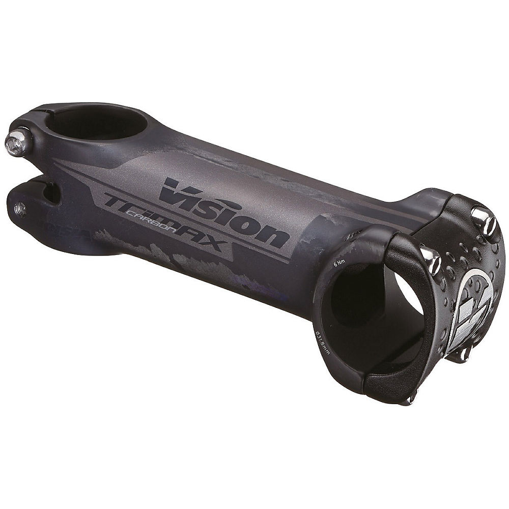 Vision TriMax Carbon Road Stem 2021 - Carbon Black - 31.8mm, Carbon Black