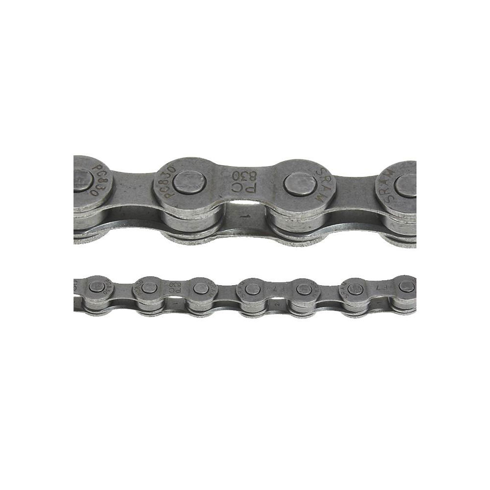 Sram Pc830 7-8 Speed Bike Chain - Silver - 114 Links  Silver