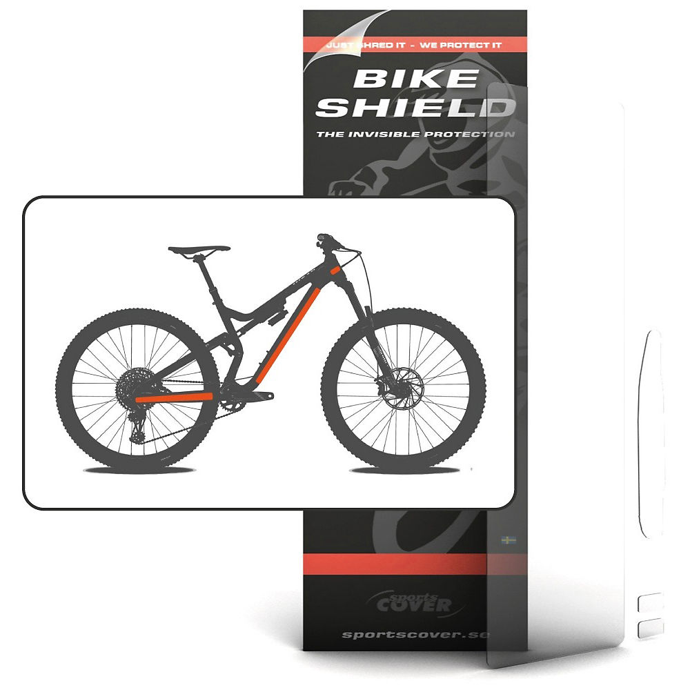 Image of Protection de cadre Bike Shield Half Pack - Clair, Clair