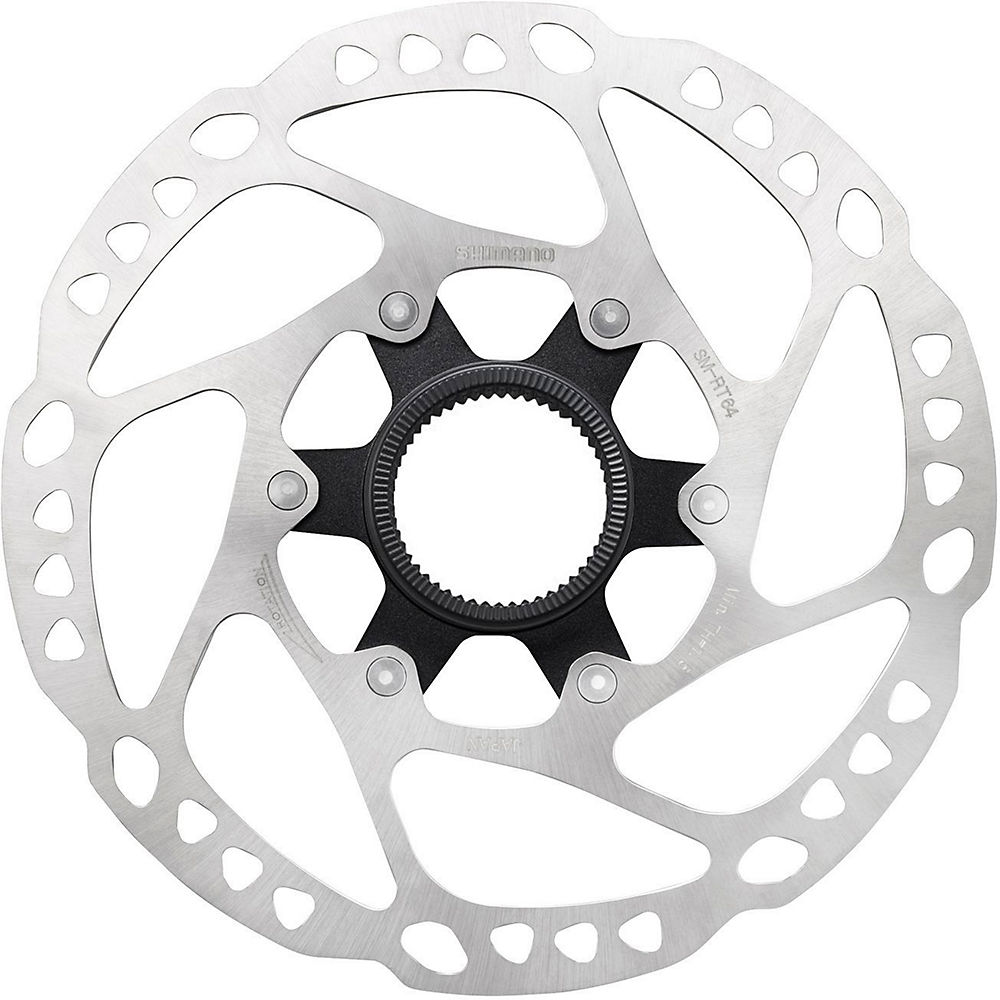 Shimano Rt64 Deore Centrelock Disc Rotor - Silver - 180mm  Silver