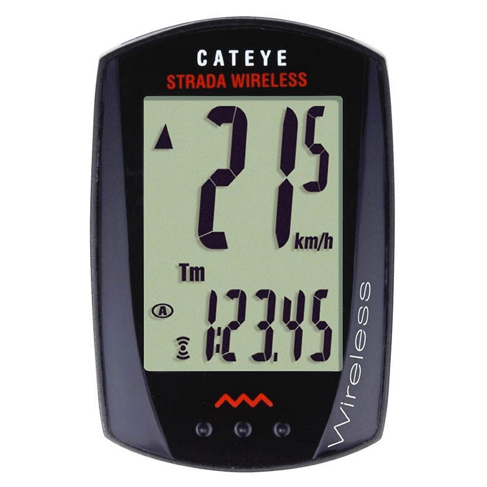 Cuentakilómetros inalámbrico Cateye Strada 8 funciones - RD300W