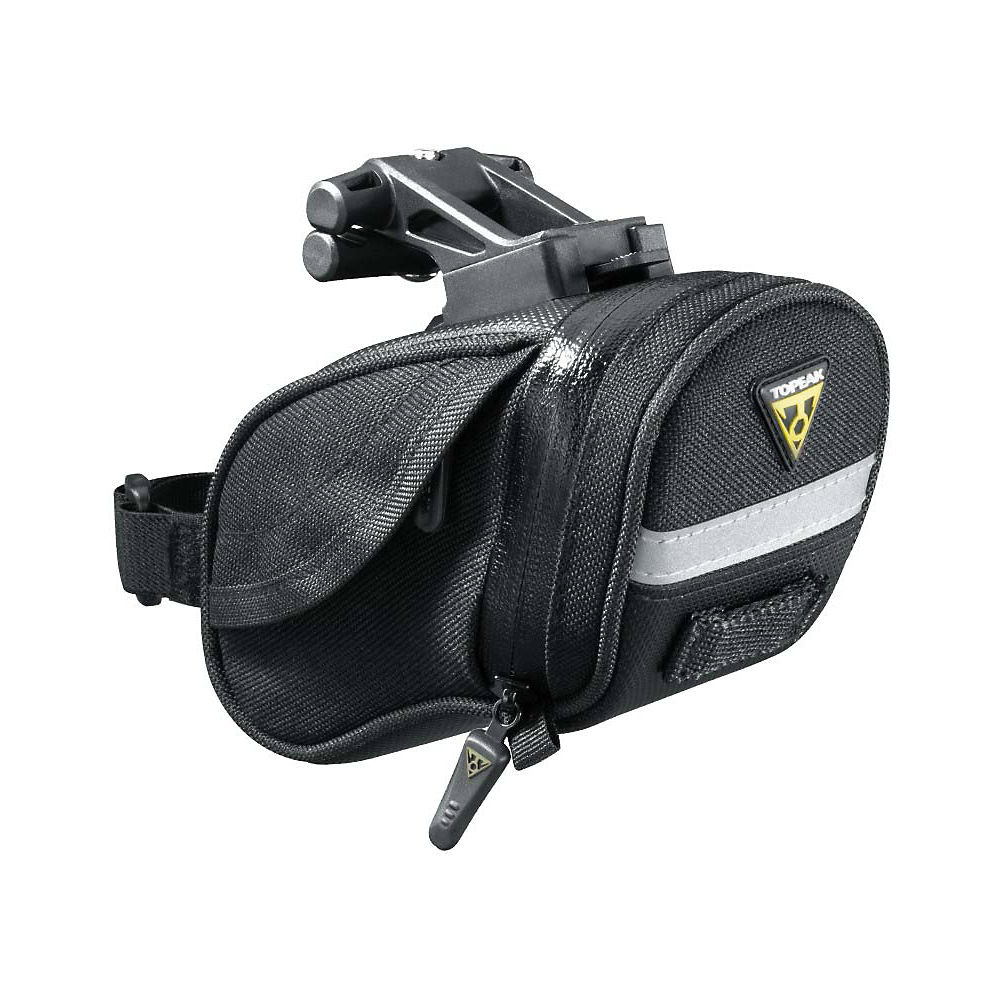 Topeak Aero Wedge Pack Dx Saddle Bag - Black  Black